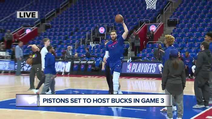 Blake Griffin game-time decision for Pistons in Game 3