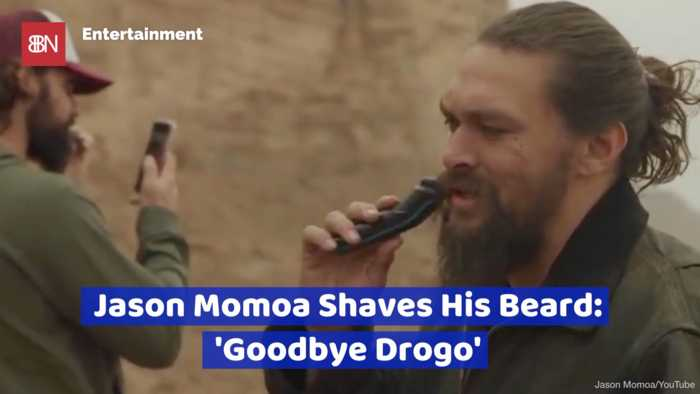 Jason Momoa's Beard Is Gone