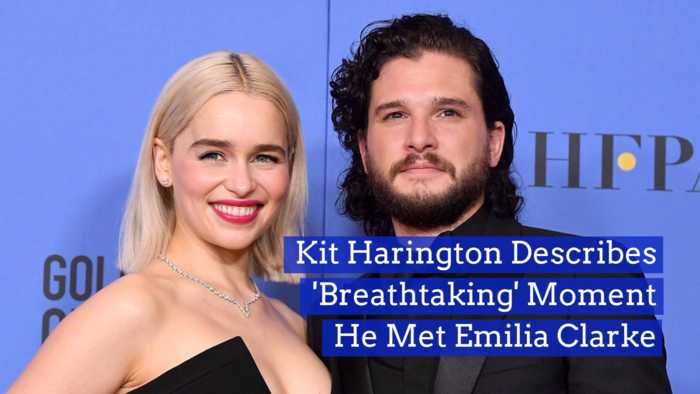 Emilia Clarke Took This Co-Stars Breath Away