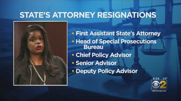 Another Key Staffer Resigns From Kim Foxx's Office