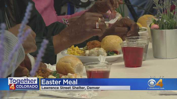 Denver Rescue Mission Offers Foot-Washing Tradition, Easter Meal