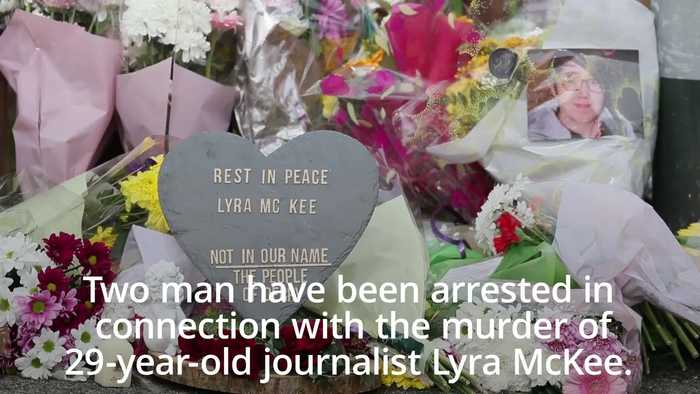Two arrested in connection with Northern Ireland journalist murder