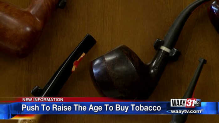 Tobacco Buying Age to 21
