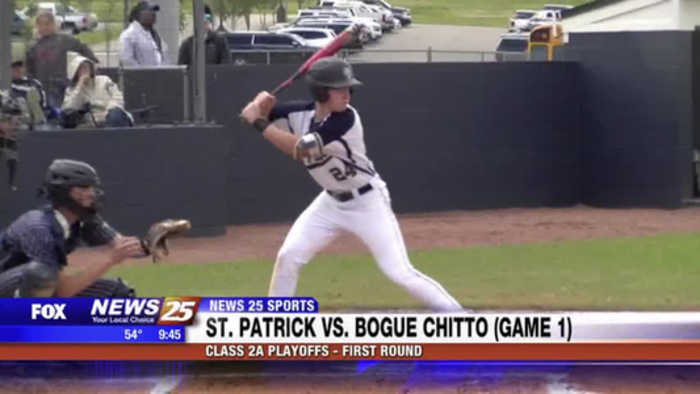 High School Baseball: St. Patrick vs. Bogue Chitto
