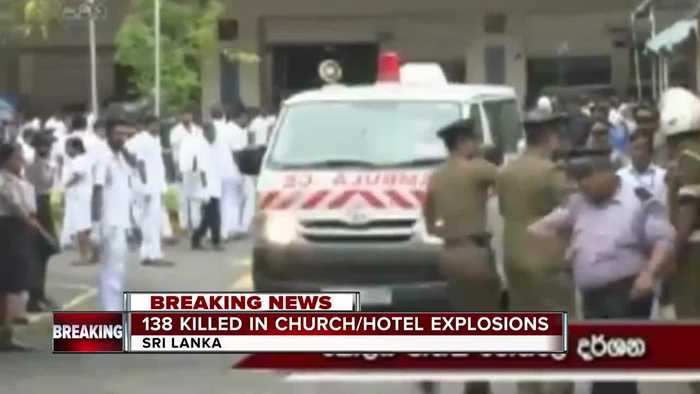 Sri Lanka blasts: More than 200 dead in church and hotel bombings across country
