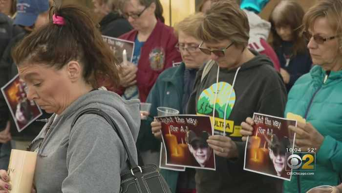 Crystal Lake Community Gathers To Plead For Missing Boy's Safe Return