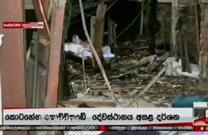 Easter Day bombs kill about 100 in attacks on Sri Lankan churches, hotels