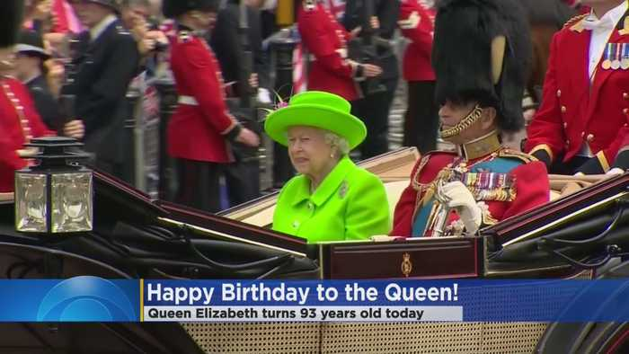 Queen Elizabeth Celebrates 93rd Birthday