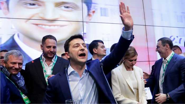 Ukraine Heads to the Polls With Comedian On Track For Triumph