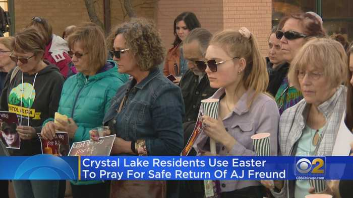 Crystal Lake Residents Use Easter To Pray For Safe Return Of A.J. Freund