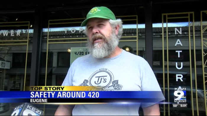 Conversation sparked about safety surrounding 4/20