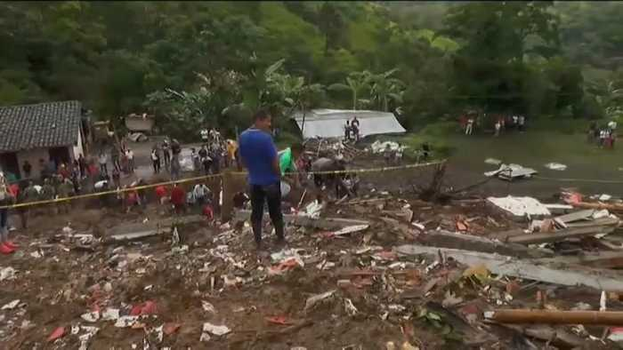 Colombia: Heavy rains unleash deadly landslide