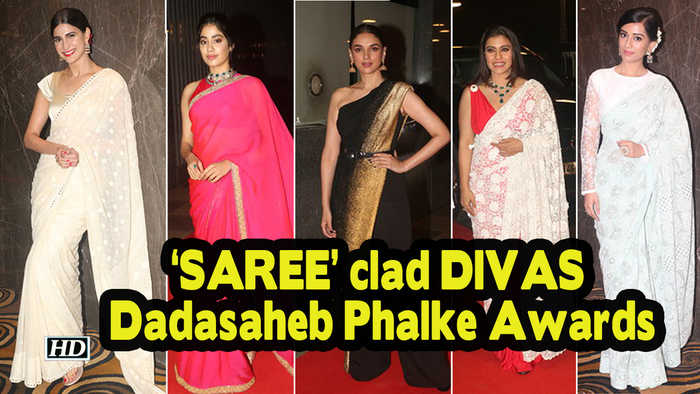 'SAREE' clad DIVAS steals the show | Dadasaheb Phalke Awards 2019