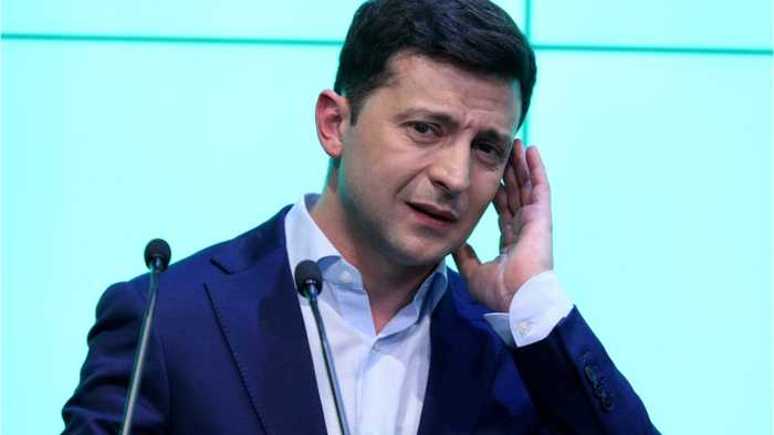 Ukraine Enters New World With Celeb President