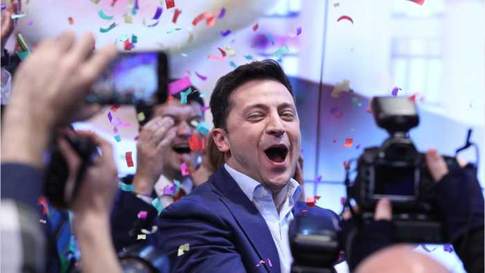Ukraine Comedian Wins Presidential Election