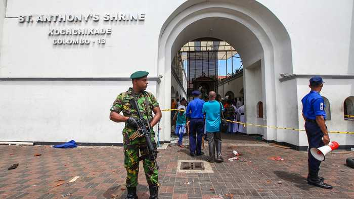 Sri Lanka Officials Blame Local Islamist Group For Terror Attacks