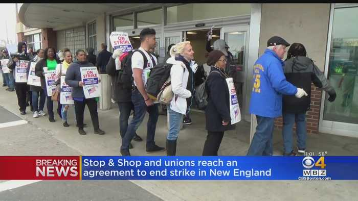 Stop & Shop Workers Set To Return To Work Monday Morning