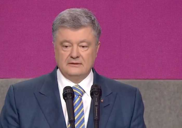 Ukraine's President Delivers Concession Speech After Comedian Wins Election