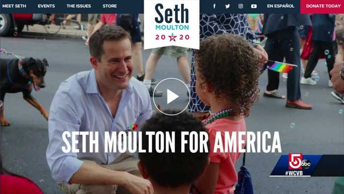 Seth Moulton enters presidential race