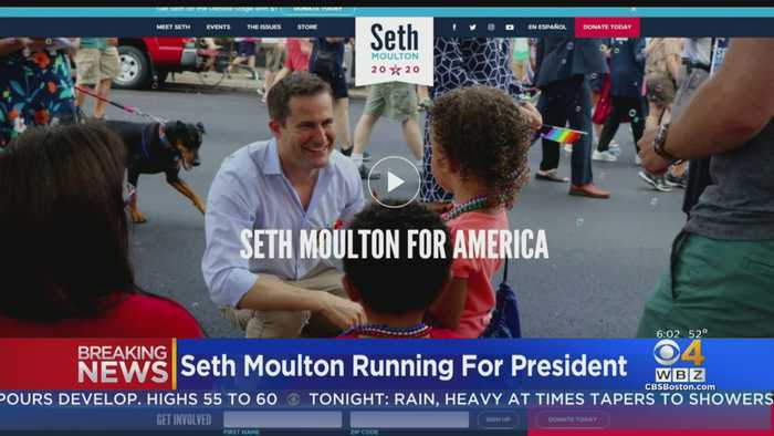 Seth Moulton Officially Launches 2020 Presidential Campaign