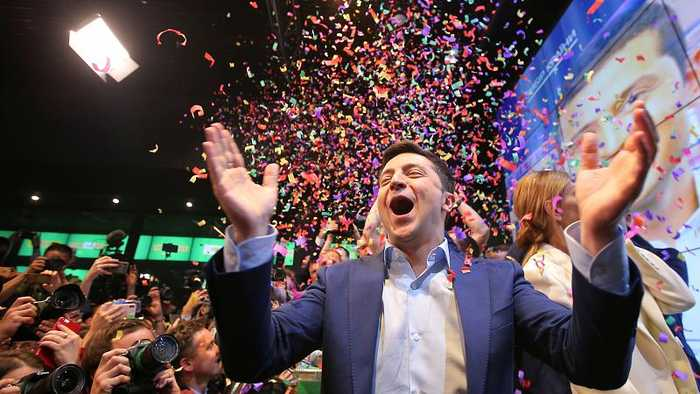 Ukraine enters the unknown as comedian Zelenskiy wins election by a landslide