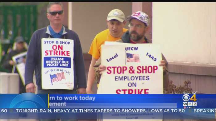 Stop & Shop Employees Return To Work Day After Strike Ends