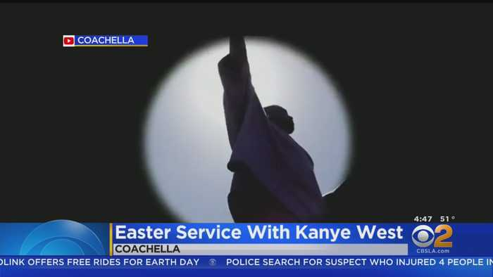 Kanye West Brings Easter Service To Coachella