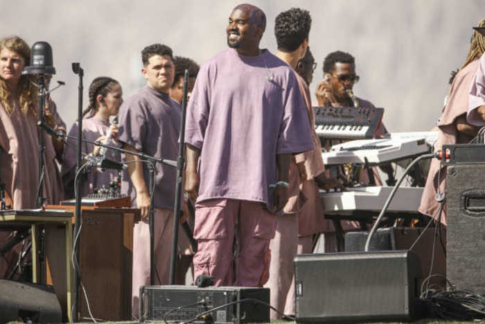 Kanye Performs New Song 'Water' During His Sunday Service at Coachella