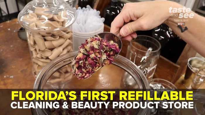 Florida's first refillable cleaning and beauty product store | Taste and See Tampa Bay