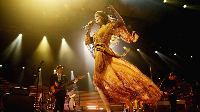 Florence + The Machine Debut Celtic Version of