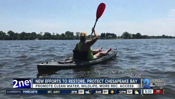 Local leaders promoting new efforts to restore and protect Chesapeake Bay