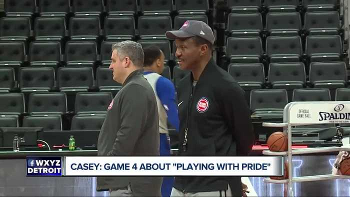 Dwane Casey: Game 4 about playing with pride