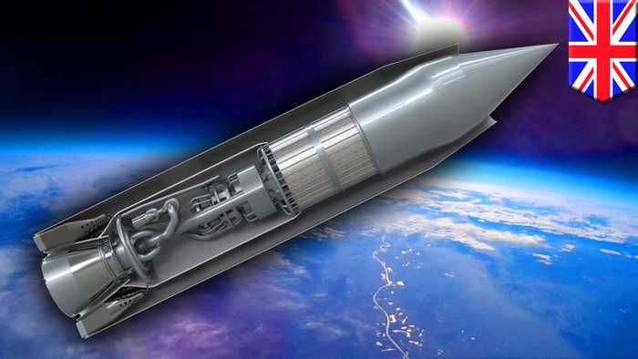 World's first air-breathing rocket