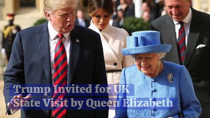 Trump Invited for UK State Visit by Queen Elizabeth