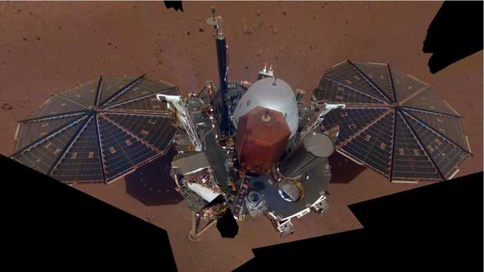 InSight Lander Detects Quake On Mars