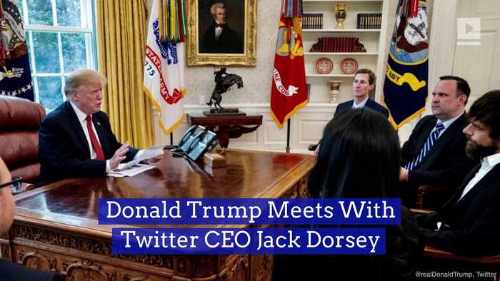 Donald Trump Meets With Twitter CEO Jack Dorsey