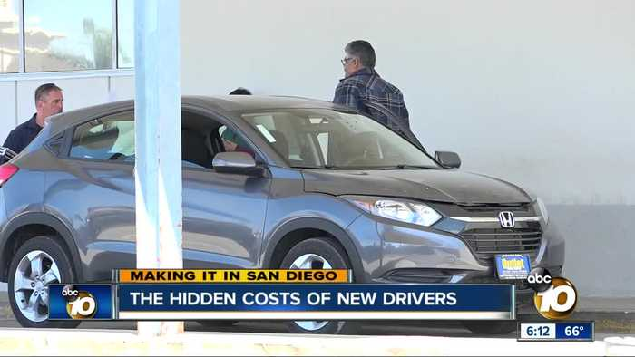 Making it in San Diego: Hidden costs of new drivers