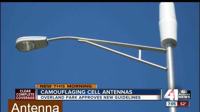 Overland Park adopts new standards to better hide small cellphone antennas in plain sight