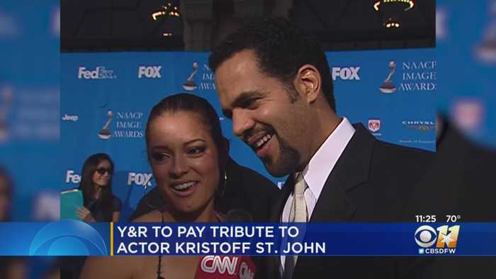 'Young and the Restless' Pays Tribute To Actor Kristoff St. John