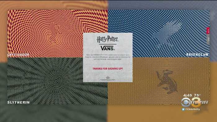 Vans Teases Harry Potter Fashion Line