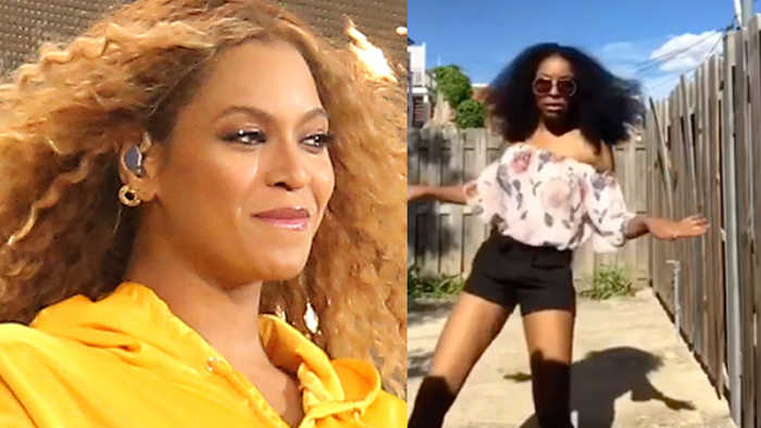 Beyonce REACTS To Viral 'Before I Let Go' Dance Challenge!