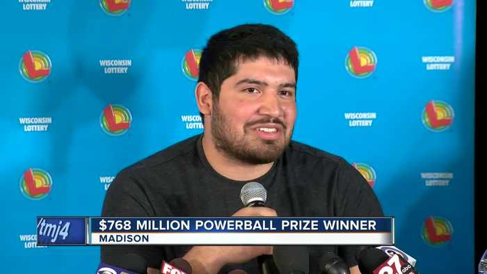 West Allis man comes forward as Powerball prize winner