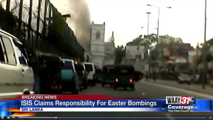 ISIS Claims Responsibility for Easter Bombings