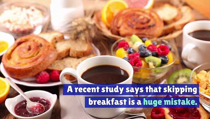 Not Eating Breakfast Increases the Chances of Heart Problems