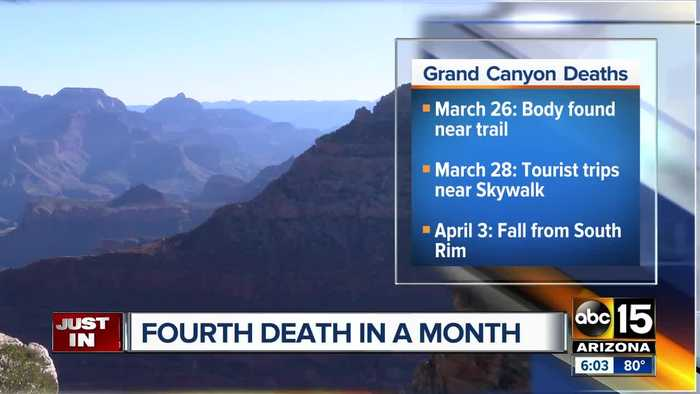 Woman falls to her death at Grand Canyon