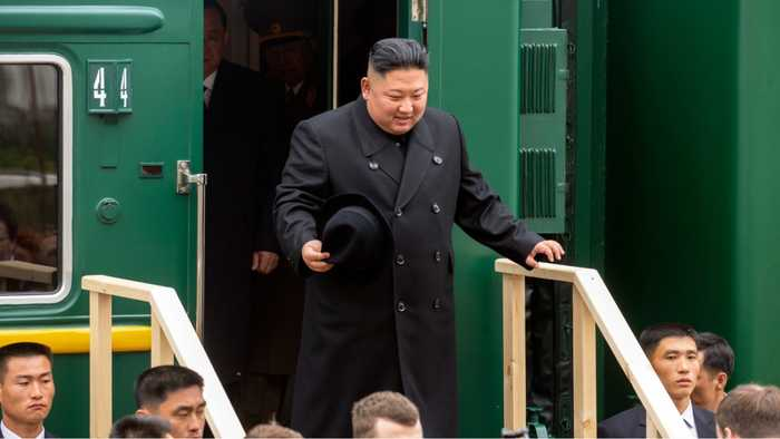 Kim Jong Un's Meeting With Putin Delayed By A Red Carpet Gaffe