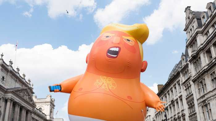 A Giant Trump Baby Blimp Could Grow Five Times As Big