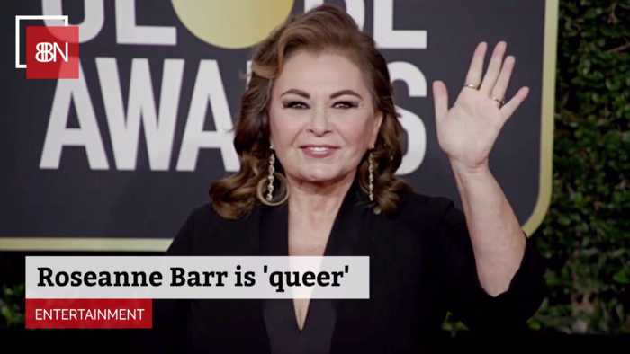 Roseanne Barr Expresses Her Sexuality