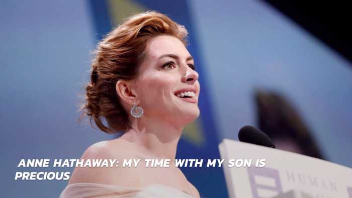 Anne Hathaway Hangs Up The Booze For Family