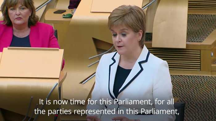Nicola Sturgeon plans second independence vote before 2021 Holyrood elections